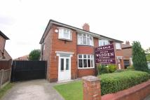 semi detached house in Milwain Drive...