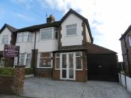 Rowsley Grove semi detached property to rent
