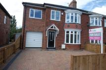 semi detached property for sale in Fordy Grove, Thornaby...