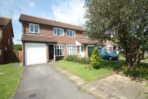 semi detached house in Durham Close, Wokingham...