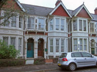 4 bed Terraced home in Shirley Road, Roath Park...