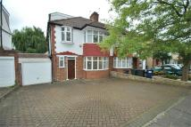 semi detached home for sale in Longland Drive...