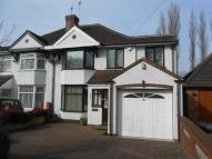 semi detached house to rent in Lichfield Road, Rushall