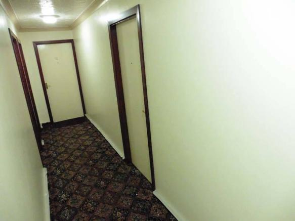 Freshly Painted Hallway