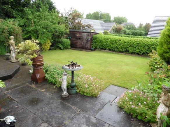 Private Rear Garden