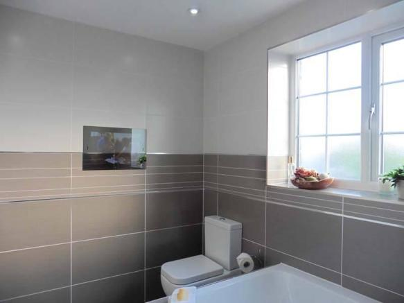 Bathroom - Built in TV