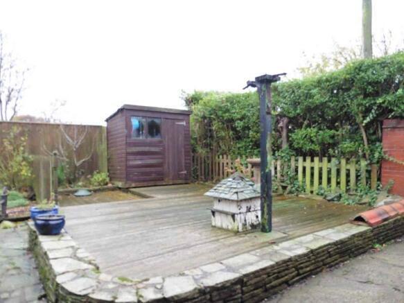 Part Of Rear Garden