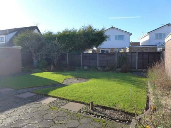West Facing Rear Garden