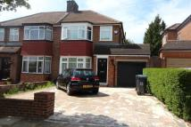 3 bed semi detached house in Clifton Gardens, London...
