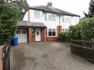 semi detached property in Cross Lane, Grappenhall...