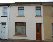 Terraced house in Oakland Street, Bedlinog...