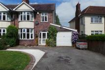 3 bedroom semi detached property in Sapcote Road, Burbage