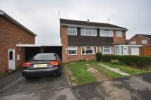 3 bedroom semi detached property in Sywell Way...