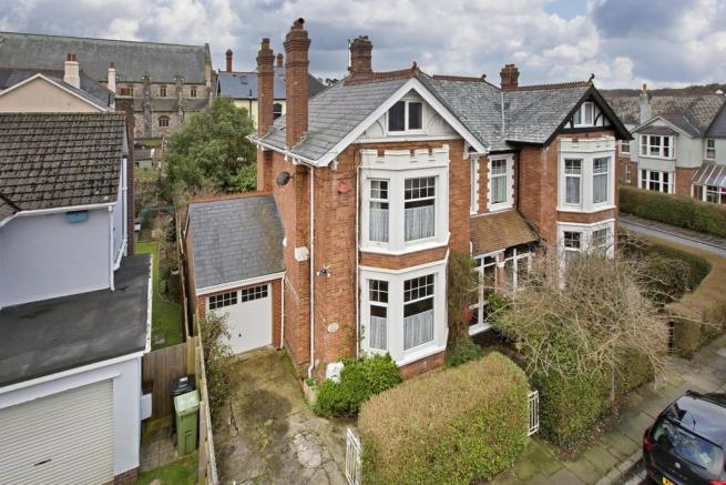 Semi detached house for sale in abbotsbury road newton abbot tq12