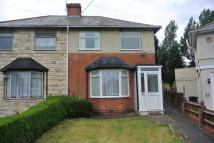 semi detached home to rent in Belvedere Road, Erdington