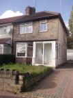 Erdington semi detached property to rent