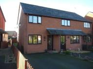 2 bed semi detached house in Elizabeth Road, Kington...