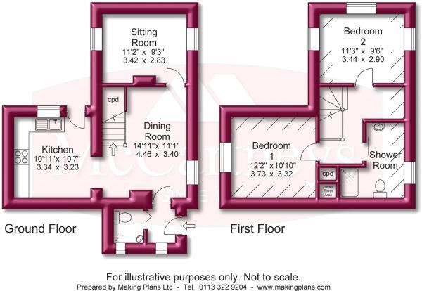 Floorplan Cottage