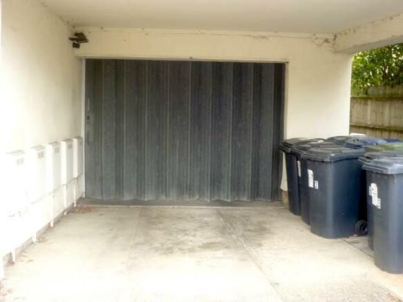 Parking entrance doo
