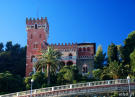 Castle in Varazze, Liguria, Italy