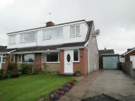 semi detached house in Oxford Close, Padiham