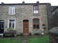 Terraced house in Gorple Road, Worsthorne...