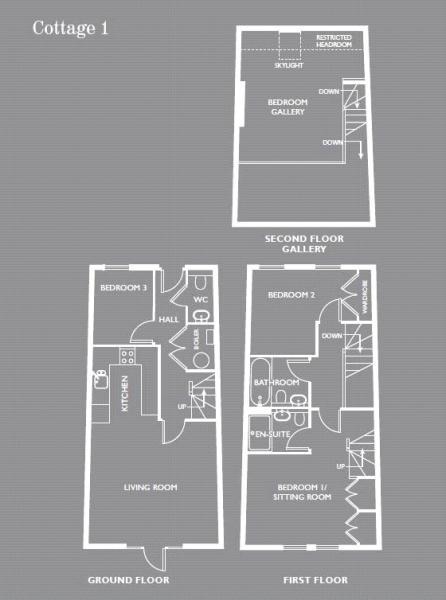 Cottage 1, 2, 4