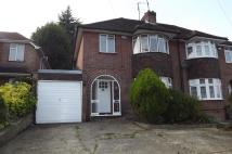 Desborough Avenue semi detached house to rent