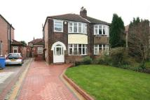 semi detached house in Frieston Road, Timperley