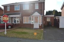 semi detached property in Hawkeswell Drive...