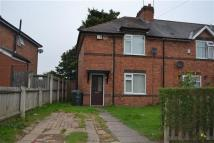 semi detached house in Hales Road, Wednesbury