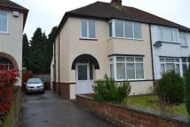 3 bed semi detached property to rent in Aldersley Road...