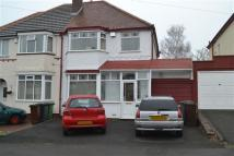 Churchfield Road semi detached property to rent
