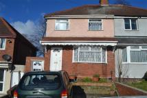 Hawksford Crescent semi detached property to rent