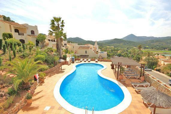 Pool from Villa