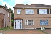 semi detached house in Kingshill Avenue...