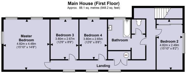 Main House 1st Floor