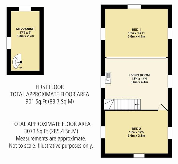 Outbuildings First Floor Plan