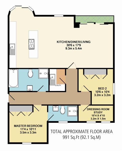Apartment 3 Floor Pl