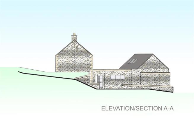 Elevation Section A-