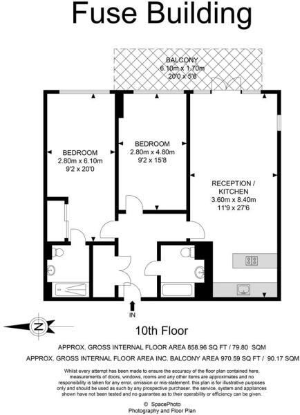 2 bed Vibe, Apartmen