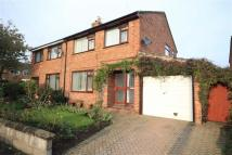 3 bed semi detached property in Cartwright Close...