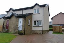 2 bed semi detached property in Bard Drive, Tarbolton...