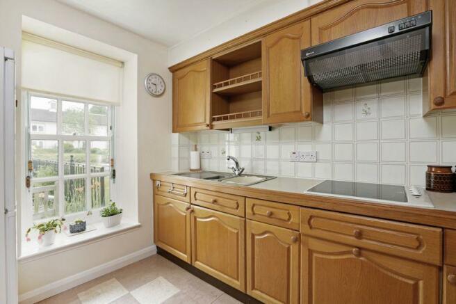 Kitchen with v...
