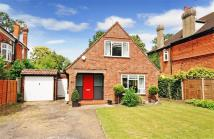 3 bed Detached property in Woodland Grove, Weybridge