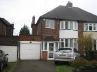 semi detached house in Coppice View Road...