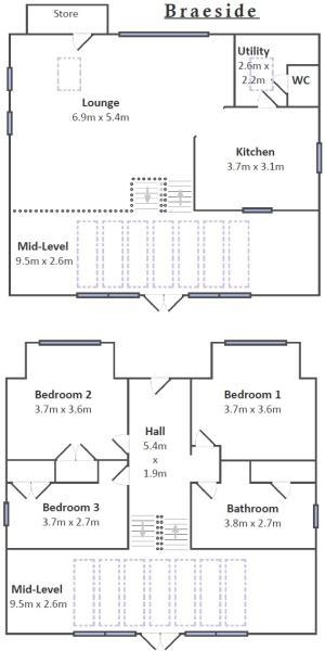 Braeside Floorplan