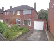 semi detached property for sale in Palmer Road, Whitnash...
