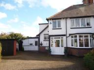 Lodge Drive semi detached property for sale
