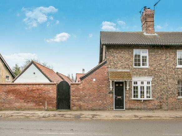 2 bedroom semi-detached house for sale in Barracks Cottage ...